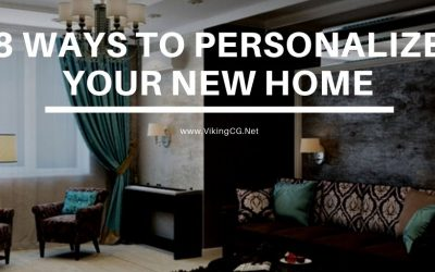 8 Ways to Personalize Your New Home