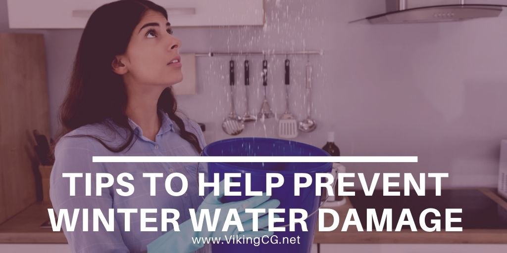 Tips to Help Prevent Winter Water Damage