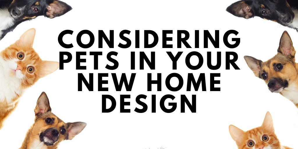 Considering Pets in Your New Home Design